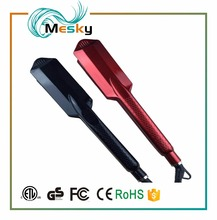 Professional hair straightener 1.5 inch wide flat iron nano titanium hair straightening iron