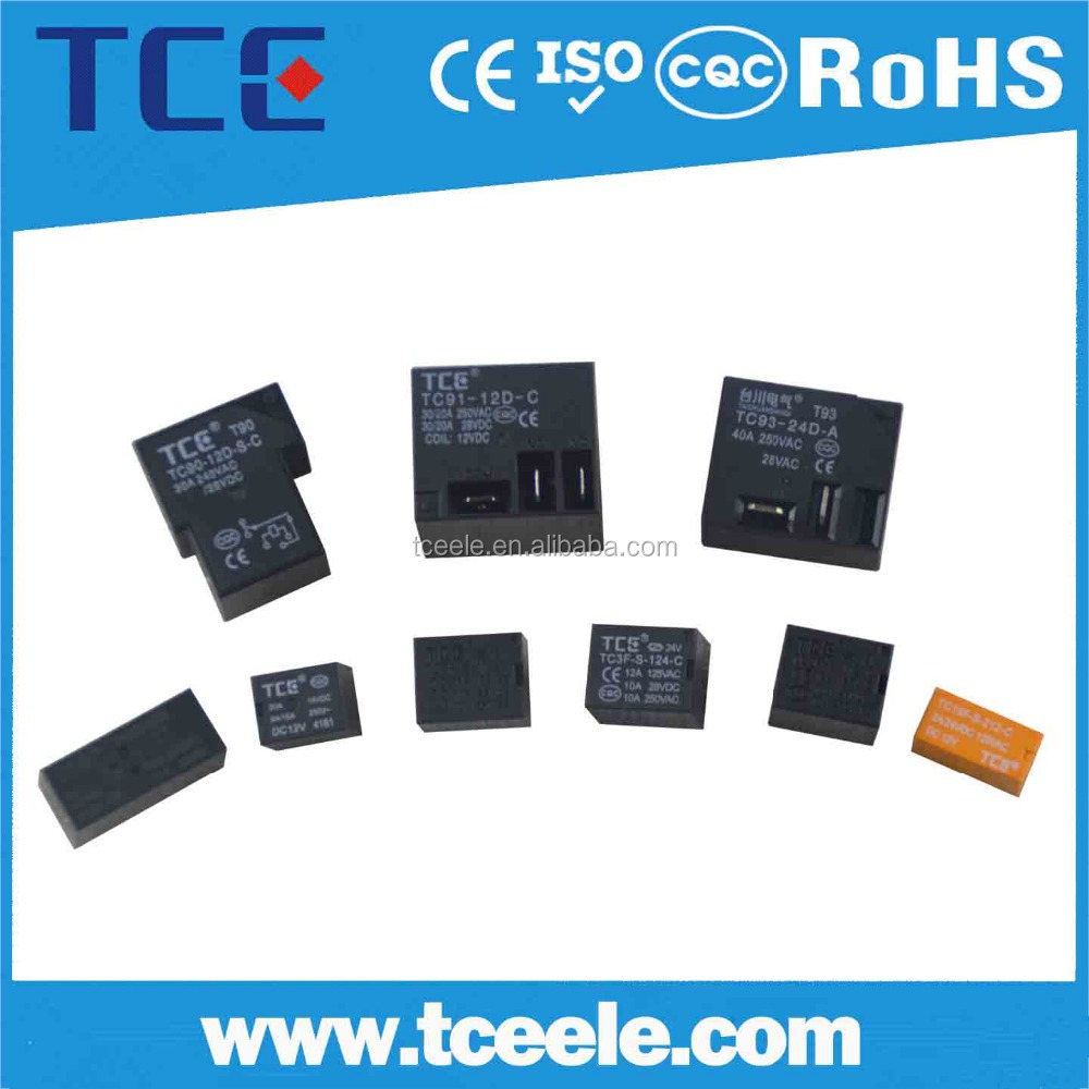 T78 Low power mini PCB relay 220V 12v 24v power relay, 12v power supply