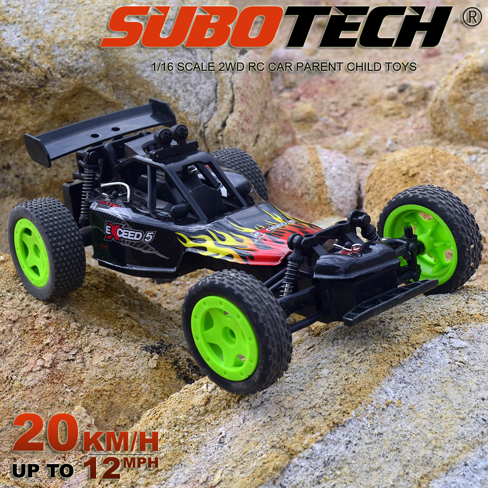 2.4G RC Baja Buggy Toy Vehicle, Mini RC Racing Toy Car With Lipo Battery
