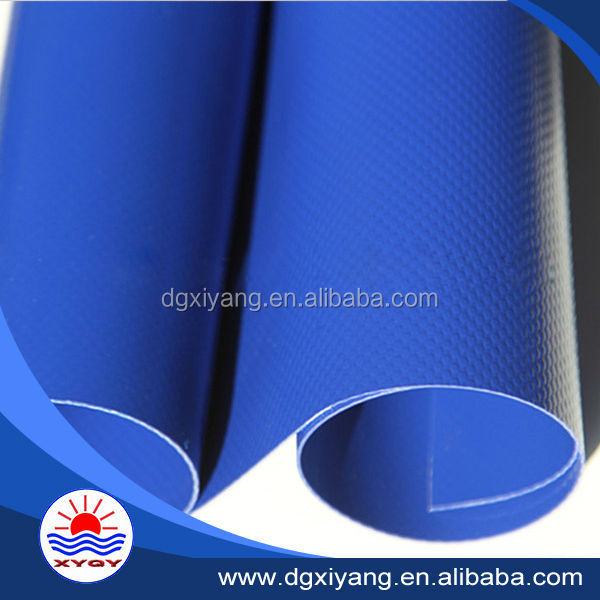 Knife coated Standard size pvc tarpaulin for truck cover in rolls