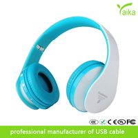 Yaika 8252/kg5012 two channel earphone headset Bluetooth stereo headset sport portable bluetooth wireless headphone with mic