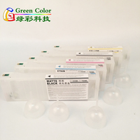 700ML Empty Refillable Ink Cartridge for Epson 7700 9700 7890 9890 7900 9900 USA Printers With Chip 5 color
