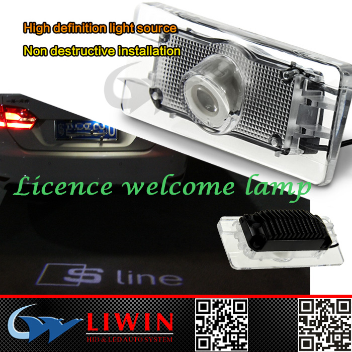 Liwin China brand New welcome lights for audi auto mini cooper car head light