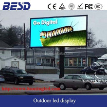 Deportes perímetro estadio deportivo pantalla led display panel p8 pantalla led exterior signos