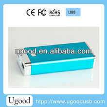 High Brightness LED hand lamps Mobile Portable Power Bank,Cheapest power bank 2600mah