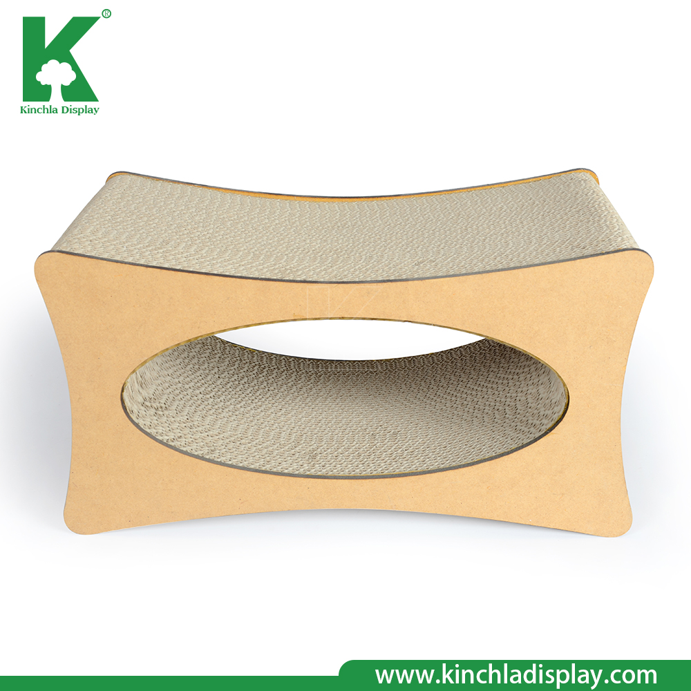 New design cardboard and cat house cat Scratcher in One Cat CorrugatedCardboard