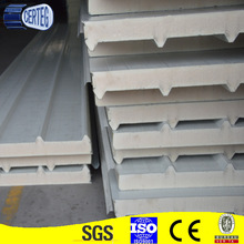 Qingdao thermal insulation cold room using polyurethane sandwich roof panels / PU panel sandwich
