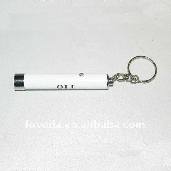 hot led keychain light with customer's logo/mini tracker keychain/ car led keychain JLP-036
