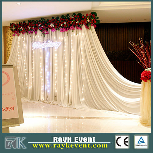 RK HOT Wholesale wedding pipe and drape, pipe and drape rental chicago