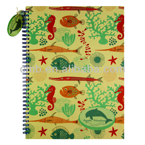 High Quality Craft Paper A4 Hard Cover Notebook