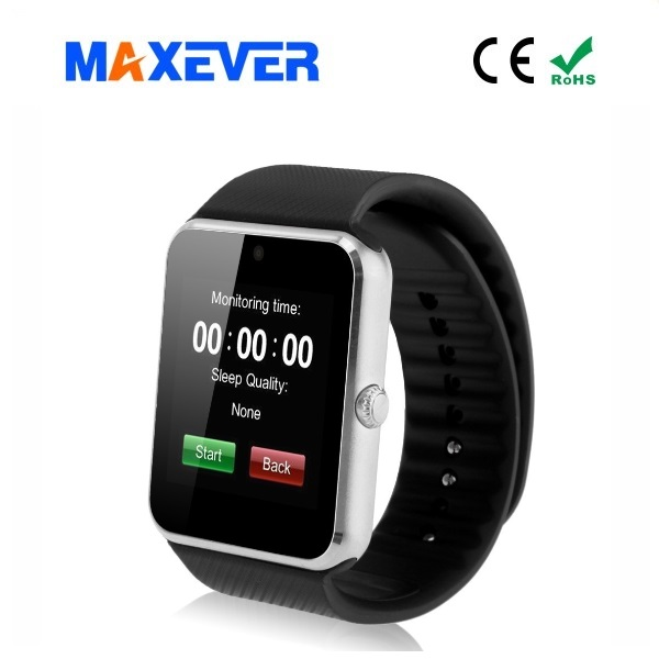 2017 Shenzhen Factory price OEM Smartwatch BluetoothV3.0 Pedometer mobile phone watch for Android