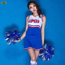 High Quality Breathable Quick-dry Lycra Sexy ladies wear , Sexy Cheerleading Uniforms for sexy women