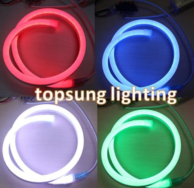 Digital led neon replacement dmx512 factory price topsung lighting