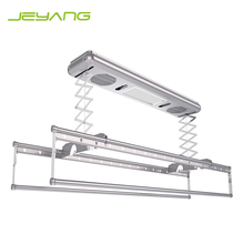 Electric durable automatic clothes hanger ceiling mounted remote clothes drying rack
