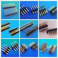 china supplier single row 2.54mm pitch pin header connector