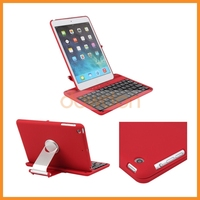 360 Swivel Rotating Bluetooth Keyboard With Cover Case For iPad Mini