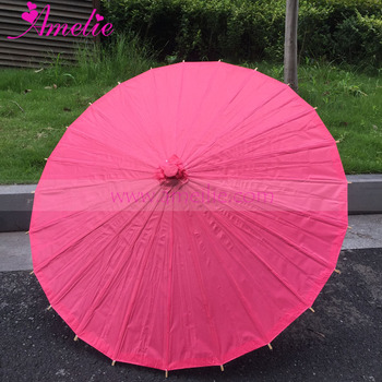 Handmade Bamboo Ribs Bridal Shower Chinese Amelie Paper Umbrella Wholesale For Wedding Decoration