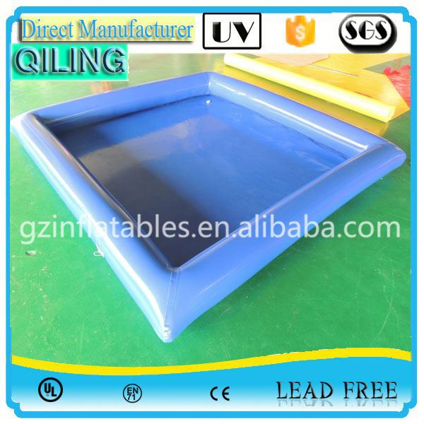 2017 Most popular airtight inflatable poool floating swan imported