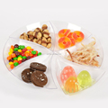 hot selling plastic plates disposable compartment