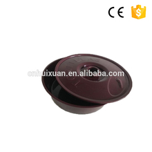 1500ml plastic Round food Tortillas container