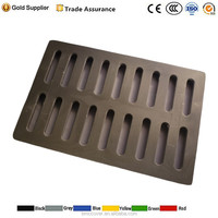 EN124 plastic polymer sewer trench drain covers
