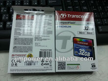Transcend 32GB Compact Flash (CF) 400X Flash Card