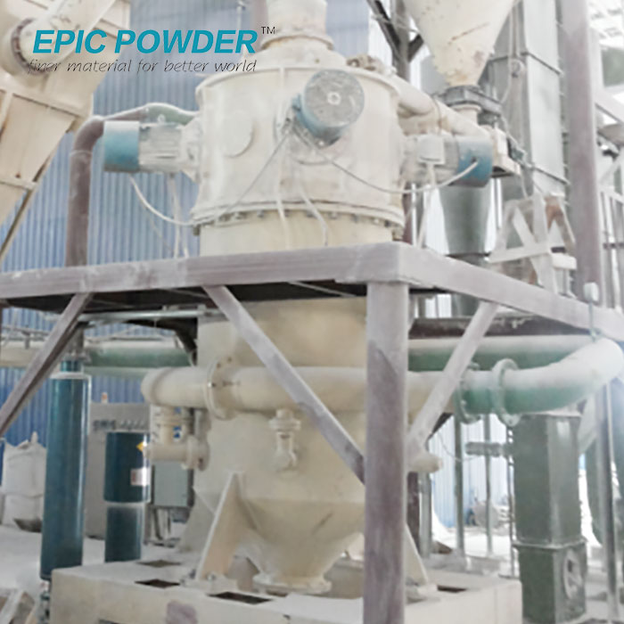 Superfine Powder Grinding Mill Fluidized Bed Jet Mill