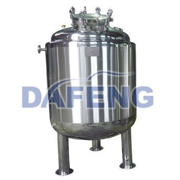 double jacketed tank