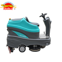 electric industrial driving road sweeper machine floor cleaning machine