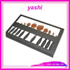 YASHI Foundation Powder Blusher Eyebrow Eyeliner Lip Toothbrush Curve Cosmetic Makeup Brush Set Kit