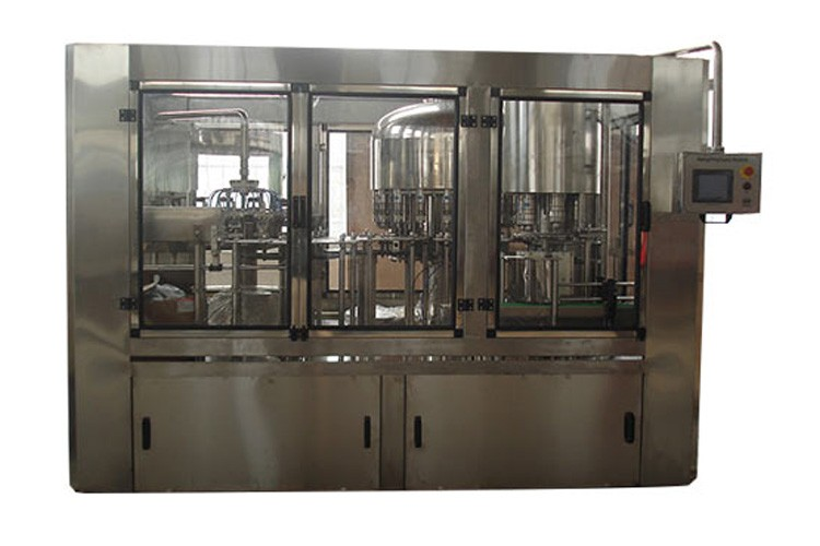 Factory price mineral pure water washing hot filling capping machine