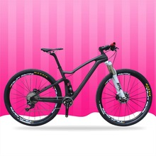 High end 11s XT groupset T700 mtb bikes 29er full carbon suspension mountain bicycle