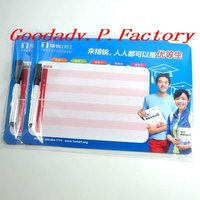 JINGRUI EDUCATION gifts magnetic boards with paper printing