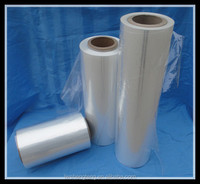 high quality plastic perforated polyolefin/pof shrink film wrap for gift paking in roll china