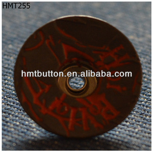 custom denim Iron jeans button
