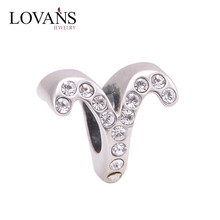 Aries Fashion 925 Sterling Silver Charms Jewelry X321E