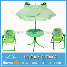 Hot selling cartoon animal childrens table and chairs