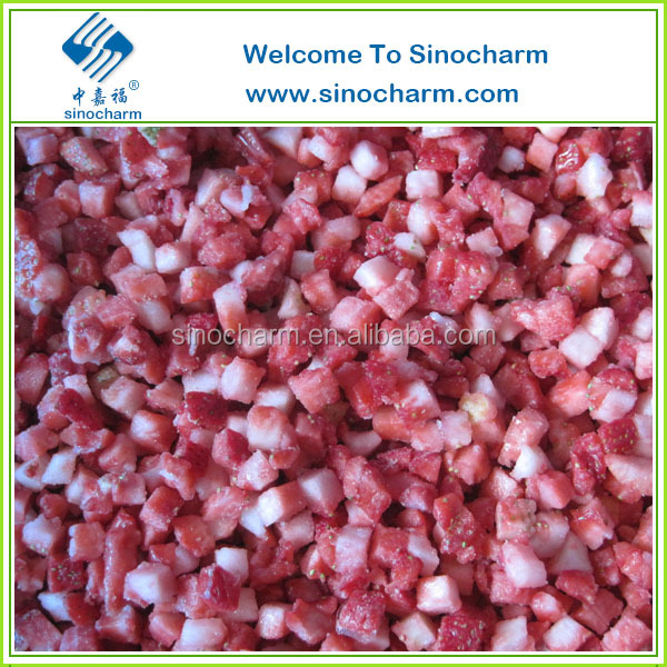Wholesale BQF Frozen Fruits Strawberry Puree