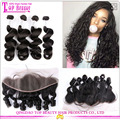 2017 100% Brazilian Bundle hair weft remy human hair extension loose wave hair 100g