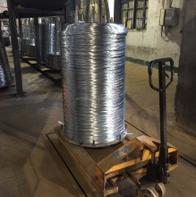 high zinc coated hot dipped galvanized wire for making chain link mesh