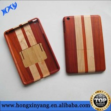 Bamboo tablet case,wood case for tablet PC, plain bamboo wood cover for iPad