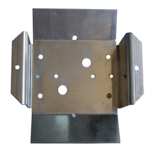 metal pole clamp bracket
