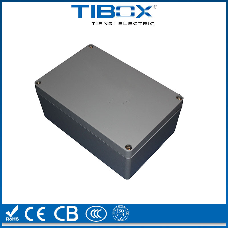 IP66 RAL 7038 extruded cheap small aluminum cases