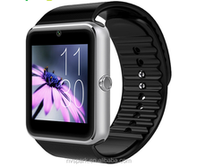 1.54 inch TFT touch screen bluetooth android smart watch MTK chip GT08 mobile watch