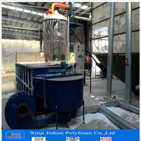 JISHUN sucessful case for packing thermocol forming machine PSF 140