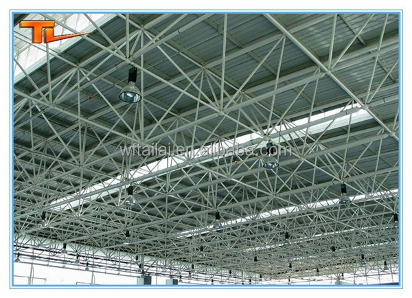 Customized Steel Space Frame Roofing Building