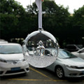 New Arrival glass Christmas ball for home decoration