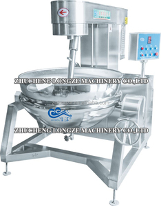 Tilting Type Gas Double Steam Jacketed Kettle/Double Jacketed Mixing Tank