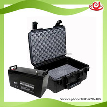 Tricases M2360 custom logo ShangHai customized 12V storage battery waterproof carry plastic case