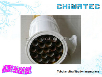 tubular UF membrane module for waste water treatment 1000ppm turbidity